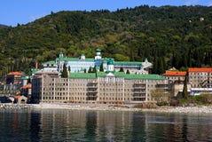 Monastery on Mount Athos Stock Photography