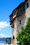 Monastery in mount Athos Royalty Free Stock Image