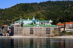 Monastery at 'Mount Athos', Greece Stock Image