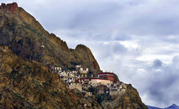 Monastery in mountains Stock Images