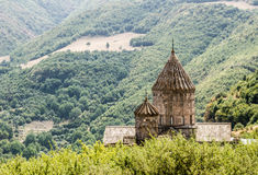 Monastery in the mountains. In Georgia Stock Image