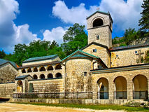Monastery in the mountains Stock Photos