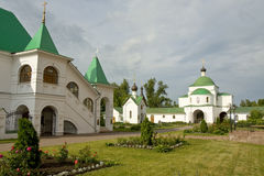Monastery in Murom, Russia Royalty Free Stock Images