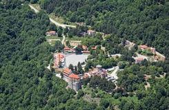 Monastery of Nea Panagia Soumela in Kastania, Imathia, Greece Stock Photography