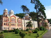 Monastery in New Athos Royalty Free Stock Photography