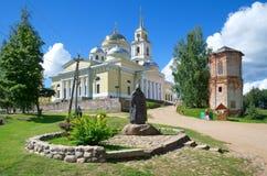 The Monastery of the Nilo-Stolobenskaya desert in the Tver region, Russia Royalty Free Stock Photo
