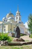 The Monastery of the Nilo-Stolobenskaya desert in the Tver region, Russia Royalty Free Stock Photos