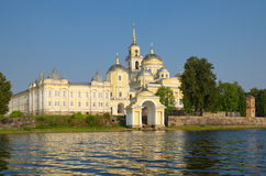 The monastery of Nilo-Stolobensky deserts in the Tver region, Russia Royalty Free Stock Photos
