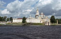 Monastery Nilov Stock Photo