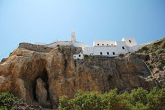 Monastery, Nisyros island Royalty Free Stock Photo