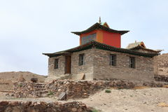 Monastery of Nomgon Mongolia Royalty Free Stock Images