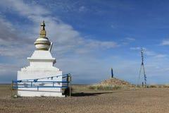 Monastery of Nomgon Mongolia Stock Photo