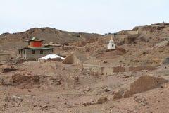 Monastery of Nomgon Mongolia Royalty Free Stock Photos