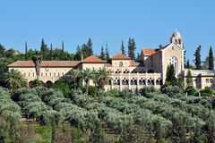 The Monastery of Notre-Dame de Sept-Douleurs. In Latrun, Israel Royalty Free Stock Images