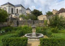Monastery Nouaille Maupertuis Stock Photos