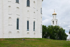 Monastery in Novgorod, Russia Stock Photos