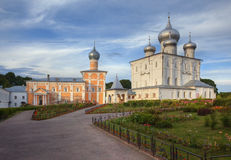 Monastery in Novgorod Royalty Free Stock Image