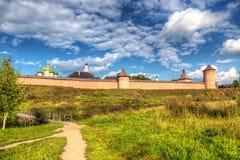 Monastery Of Saint Euthymius. Suzdal, Russia Royalty Free Stock Photos