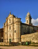 Monastery of Oia in Galicia Stock Photos