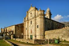 Monastery of Oia in Galicia Royalty Free Stock Photo