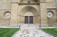 Monastery of Oliva Stock Photography
