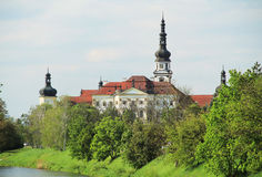 Monastery in Olomouc Stock Images