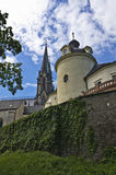 Monastery, Olomouc royalty free stock photography