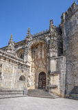 Monastery of the Order of Christ - the main entrance . Royalty Free Stock Image