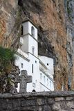 Monastery of Ostrog Stock Image