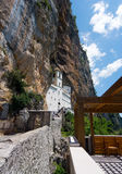 Monastery of Ostrog in Montenegro Stock Photo