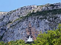 Monastery Ostrog Stock Images