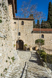 The monastery of Our Lady of Emialon Stock Photography