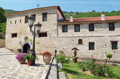 Monastery of Panagya in Kleisoura, Greece Stock Photo