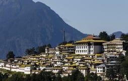 Monastery. Panoramic view of tawang monastery Stock Images