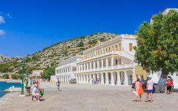 Monastery Panormitis. Symi Island. Greece Royalty Free Stock Photography
