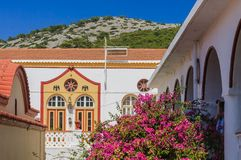 Monastery Panormitis. Symi Island. Greece Stock Photo