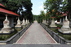 Monastery of Pawon near Borobudur on the island of Java Royalty Free Stock Photo