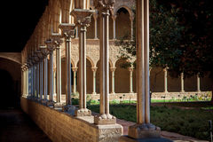 Monastery of Pedralbes in Barcelona, Catalonia, Spain Royalty Free Stock Images