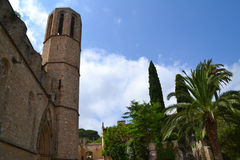 Monastery of Pedralbes in Barcelona, Spain Royalty Free Stock Images