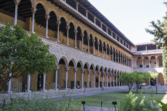 Monastery of Pedralbes Barcelona - Spain Royalty Free Stock Photo