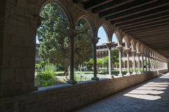 Monastery of Pedralbes Barcelona - Spain Stock Photo