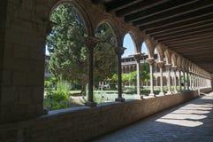 Monastery of Pedralbes Barcelona - Spain Stock Photo