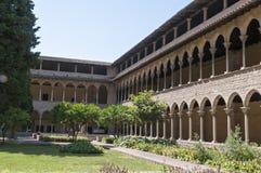 Monastery of Pedralbes Barcelona - Spain Stock Photos