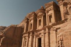 Monastery,Petra Stock Image