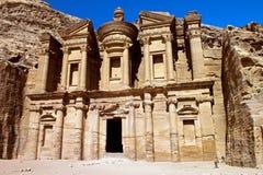 Monastery  of Petra Stock Photos