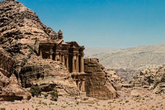 Monastery of Petra Stock Photography