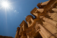 The Monastery, Petra Royalty Free Stock Images
