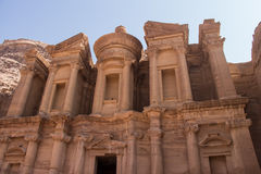 The Monastery, Petra, Jordan Royalty Free Stock Photos
