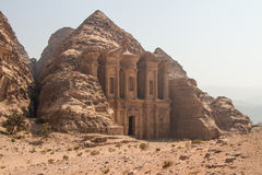 The Monastery, Petra, Jordan Royalty Free Stock Images