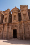 The Monastery, Petra, Jordan Royalty Free Stock Photo